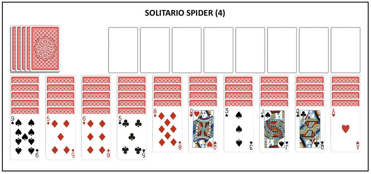 Spider Solitaire 4 couleurs